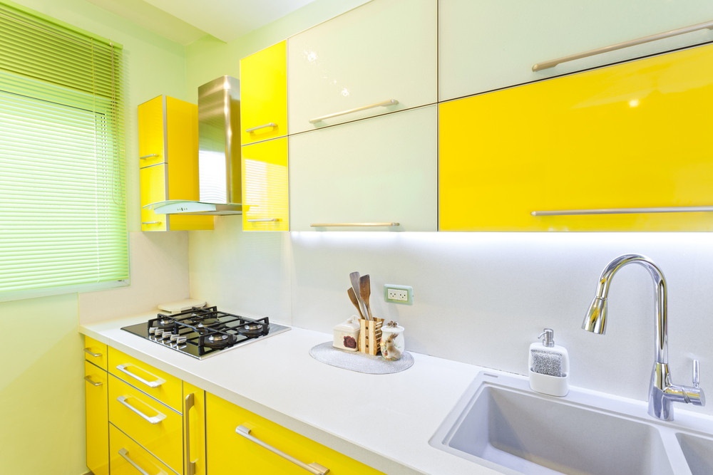 Yellow Kitchen Cabinets Melbourne