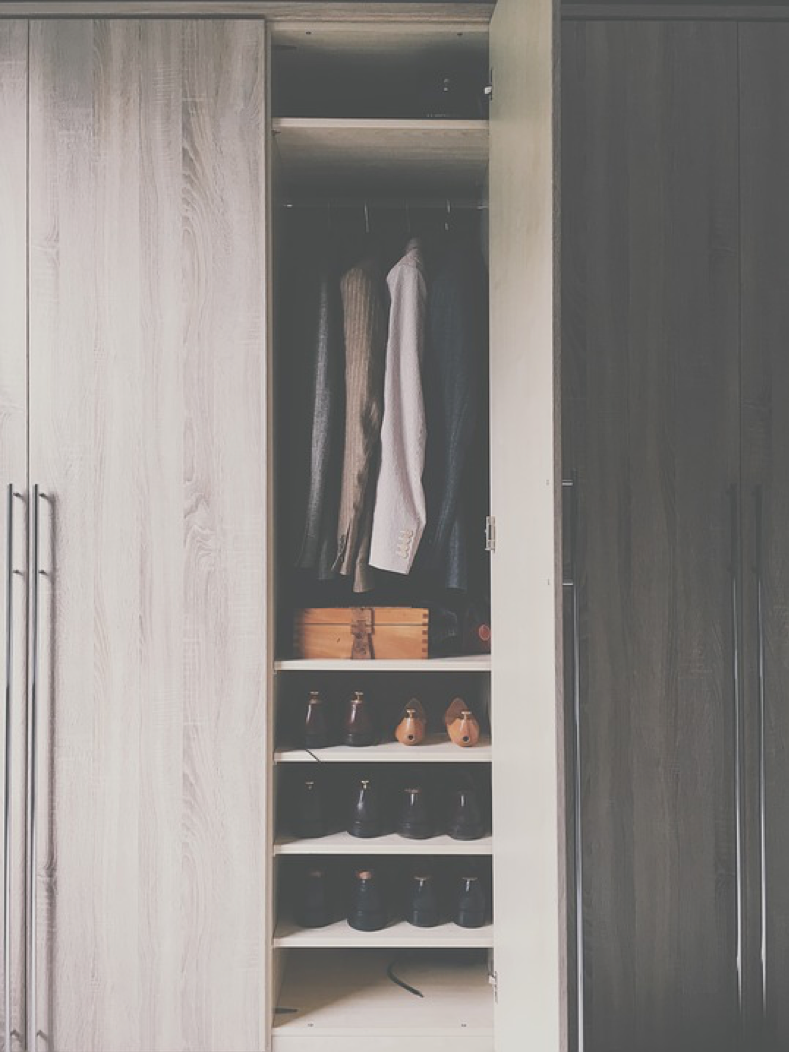 Stylish Wardrobe Storage